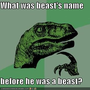 What was beast's name  before he was a beast?