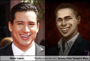 Mario Lopez. Totally Looks Like Jeremy from Vampire Wars.