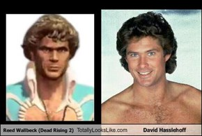 Reed Wallbeck (Dead Rising 2) Totally Looks Like David Hasslehoff