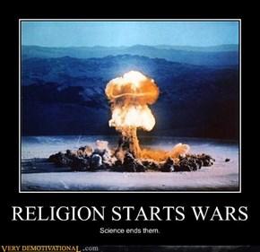 RELIGION STARTS WARS