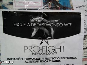 Taekwondo Fail