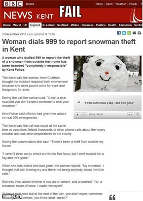 Theft Report Fail