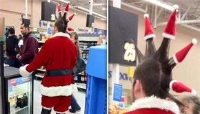 Spikey Claus