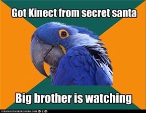 Got Kinect from secret santa