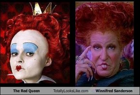 The Red Queen Totally Looks Like Winnifred Sanderson
