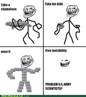 Free invisibility