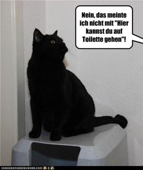 (German) Toiletten-Missverstaendnis