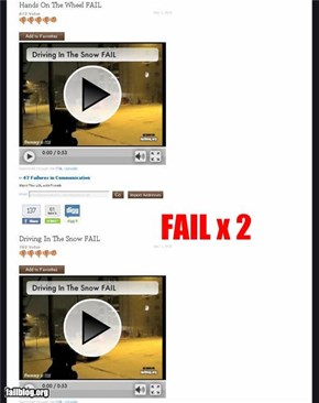 FAIL Blog FAIL: Seeing Double