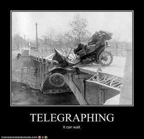 TELEGRAPHING