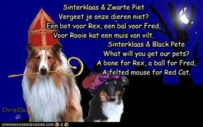 For all the Dutch cheezpeep, who give gifts and (bad) rhymes for Sinterklaas, december 5th.