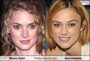 Winona Ryder Totally Looks Like Keira Knightley