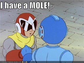 I have a MOLE!