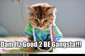Dam Itz Good 2 BE Gangsta!!!