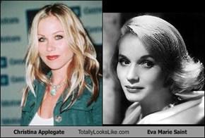 Christina Applegate Totally Looks Like Eva Marie Saint