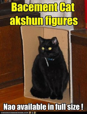 Bacement Cat  akshun figures