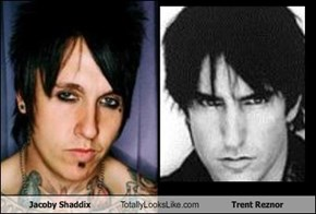 Jacoby Shaddix Totally Looks Like Trent Reznor