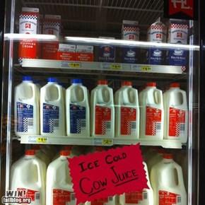 Milk Synonym WIN