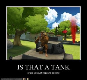 IS THAT A TANK