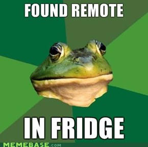 Foul bachelor Frog: Found Remote