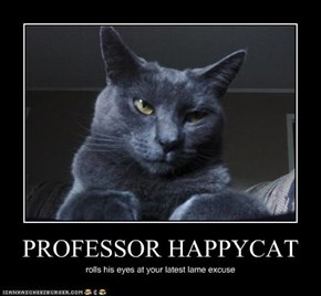 PROFESSOR HAPPYCAT