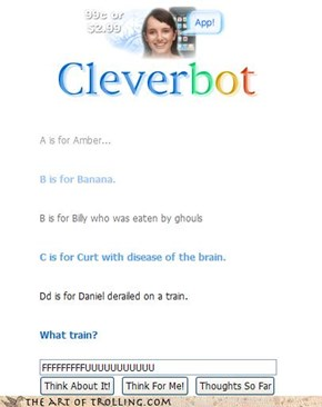 CLEVERBOT Y U NO LEARN SONG