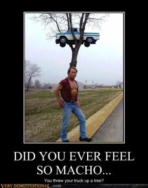 DID YOU EVER FEEL SO MACHO...