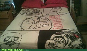 Internet IRL: Rage Comic Blanket FTW!