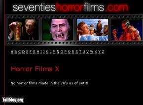 70's horror films