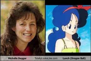 Michelle Duggar Totally Looks Like Lunch (Dragon Ball)