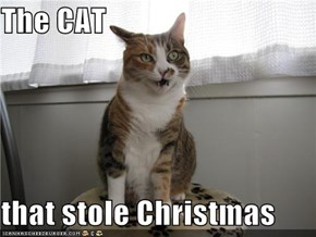 The CAT  that stole Christmas