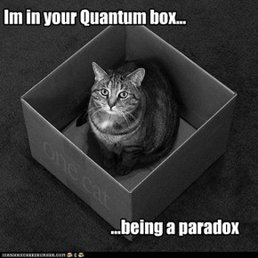 Im in your Quantum box...