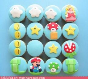 Epicute: Super Mario Cupcakes