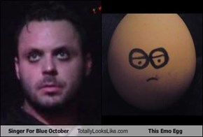 Singer For Blue October Totally Looks Like This Emo Egg