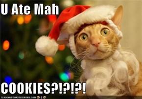 U Ate Mah   COOKIES?!?!?!