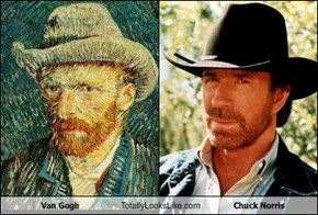 Van Gogh Totally Looks Like Chuck Norris