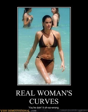 REAL WOMAN'S CURVES