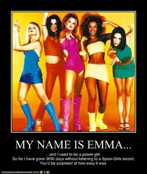MY NAME IS EMMA...