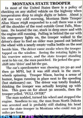 State Trooper Humor