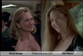 Meryl Streep Totally Looks Like Kim Myers