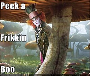Peek a  Frikkin Boo