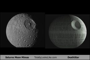 Saturns Moon Mimas Totally Looks Like DeathStar