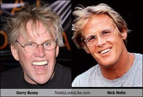 Garry Busey Totally Looks Like Nick Nolte