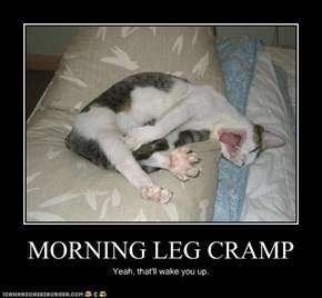 MORNING LEG CRAMP