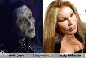 Wraith Queen Totally Looks Like Jocelyn Wildenstein