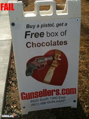 Free Chocolates Fail