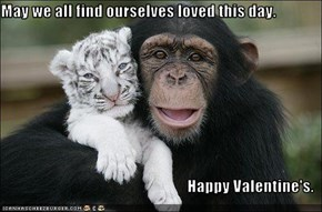 May we all find ourselves loved this day.  Happy Valentine's.