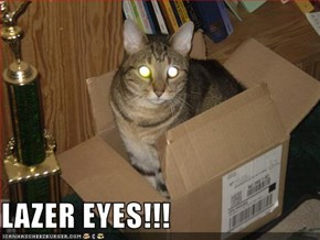 LAZER EYES!!!