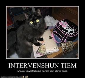 INTERVENSHUN TIEM