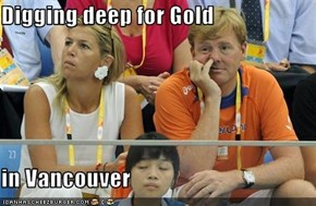 Digging deep for Gold  in Vancouver