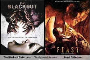 The Blackout DVD cover Totally Looks Like Feast DVD cover